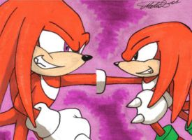 Sonic Generations: Knuckles by Metal-CosxArt