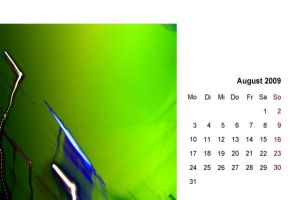 abstract 2009 - calendar 08 by 2-03