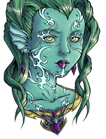 Tideborn by Rainydaysmiles