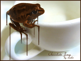 Chocolate frog by me by vladis123