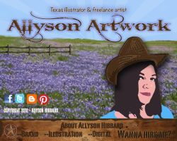 New Website Home Page by AllysonArtwork