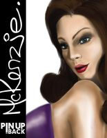 McKenzie - Close UP by macillustrator
