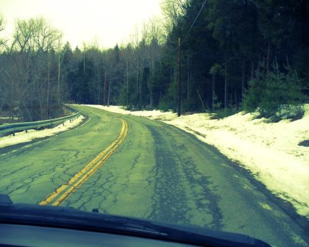 Winter Road by Spoil-the-Tee-Tree
