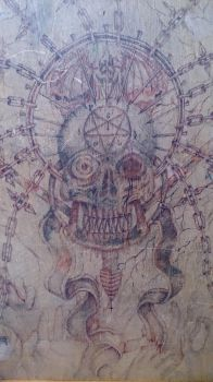 Old Drawing Board by Agitrem