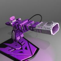 Shockwave Cannon by wizardofosmond
