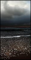 Darkness above the sea ... by MOSREDNA