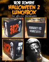 RZ Halloween 2 Lunch Box by kreepykustomz