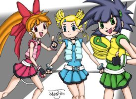 Power Puff Girls Z by Marsj