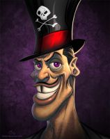 Disney Villains Dr. Facilier by NicChapuis