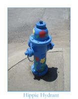 Hippie Hydrant by didyoubelieve