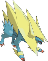 Mega Manectric by TheAngryAron