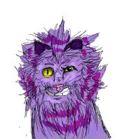 cowardly lion possesed by cheshire cat by Kira-Mint-Tsuneo