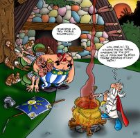 Asterix Exercise by Chatmusse