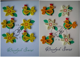 Quilling - card 56a-56b by Eti-chan