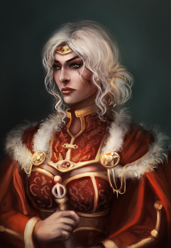 Cirilla the Empress of Nilfgaard by Tissia1229