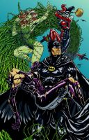 Batman Ambush color by j-tib