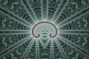 Magic Bow Spiral No. 1 by element90