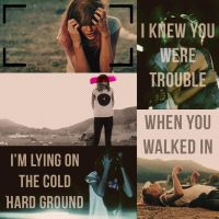 I Knew You Were Trouble by CrayolaWasHere
