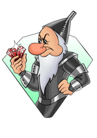 Commission - Grumpy the Tin Man by Paola-Tosca