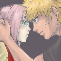 NaruSaku . Protect by starchiishio