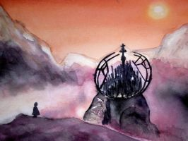 Gallifrey's citadel by Christina0905