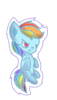 Rainbow Dash by HelloThere9999
