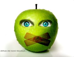 Apples Do Have Feelings by HorrorOfReality