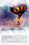 Circa Survive Tour Poster by jkrout555