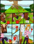 Wolf vs Horse pg 1 by kingofthedededes73