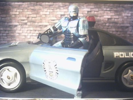 On the STREETS with ROBOCOP by jps68