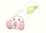 Kirby and teh Lime Juice by YellowWollywog