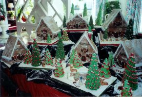 Gingerbread Village 2 by NctrnlBst