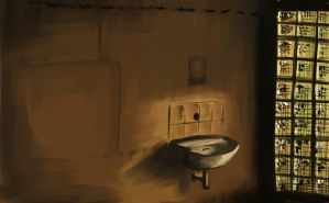 sink filled with light by vuurvlam