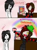 Pasta vine : lucky charms by KillingKate1
