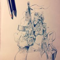 Tank girl by onecola