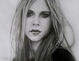 Avril Lavigne by lovise
