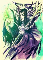 Maleficent male by dragon-flies