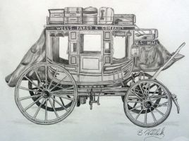 1870 Concord Coach by BWald1