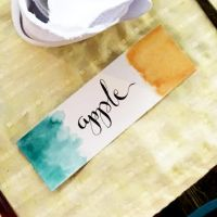 Place Cards Calligraphy 5 by jpaul
