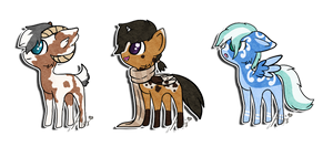 Tiny Pony Collab: SOLD by Key-Ring