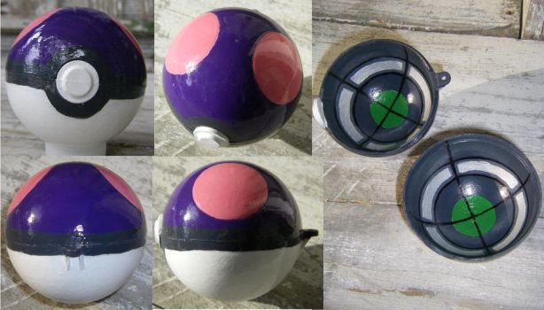 Master Ball by Cattype