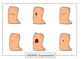 WORMS Expressions by 310
