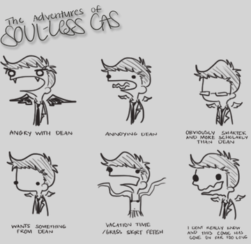 Soul-less Cas 23 by musicalirony