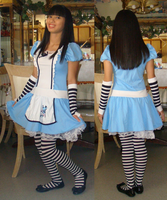 Me in Halloween Alice in Wonderland costume by Magic-Kristina-KW