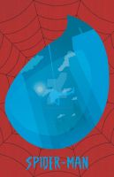 Spider-Man Minimalistic Poster by GushueDesign
