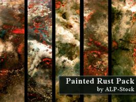 Painted Rust Pack by ALP-Stock