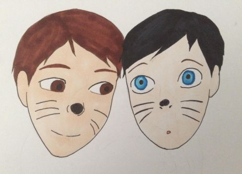 Dan and Phil by MARVELcomicsnerd