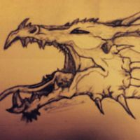 Drew out my tattoo by Juggaloboobear