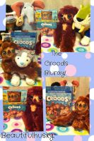 The Croods Bluray and DVD with Belt plush toy! :D by BeautifulHusky