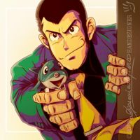 LUPIN III watergun LP from the 1st TV series by handesigner